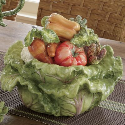 Nature's Bounty Soup Tureen