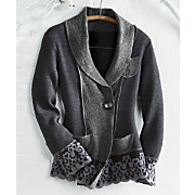Lace trimmed Jacket