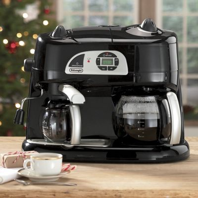 Espresso Drip Coffee Maker Combo : DeLonghi Combination Drip Coffee, Espresso, Cappuccino and Latte Machine from Seventh Avenue 41889