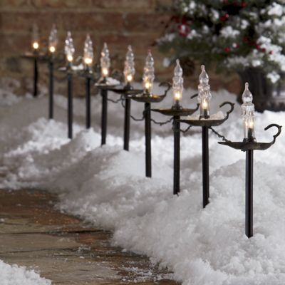 Set of 10 Candlestick Path Lights