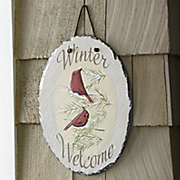 Winter Welcome Sign 1