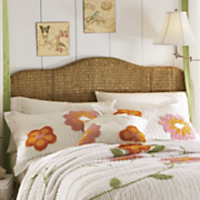 Seagrass Headboard & Bedrails