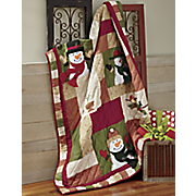 S'no Place Like Home Quilted Throw