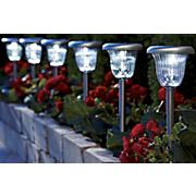 set of 6 solar pathway lights