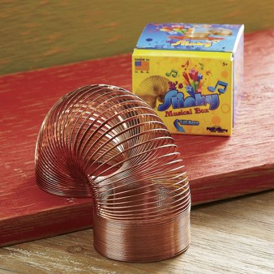 70th Anniversary Slinky and Musical Box