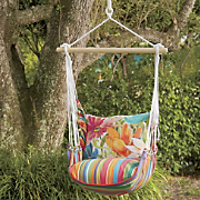 Floral Swing Chair...