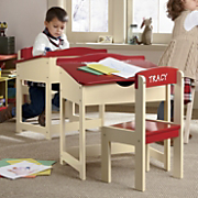 Personalized Childs Desk And Chair