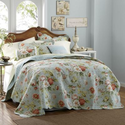 Dorset Oversized Reversible Quilt, Sham and Pillows