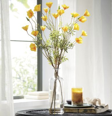 Yellow Poppies and Vase