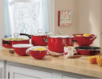 12 piece tivoli cookware set from through the country door 42552 - Tivoli kitchenware ...