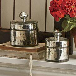 Set of 2 Jaidon Mercury Jars