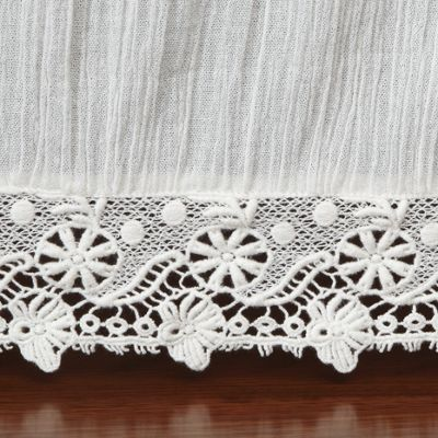 Serenity Lace Bedskirt