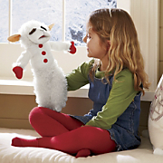 lamb chop talking puppet