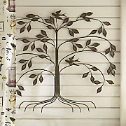 family tree wall sculpture