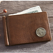 american bison leather wallet
