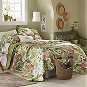 Tobago Oversized Reversible Quilt, Sham and Pillow