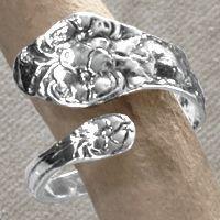 Sterling Silver Keepsake Jewelry Ring