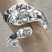 Sterling Silver Keepsake Jewelry Ring