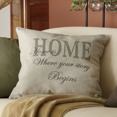 Home Toss Pillow