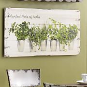 herb garden print