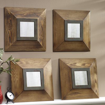 Set of 4 Wall Mirrors