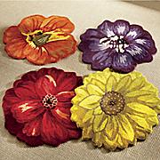 hand tufted blossom rug