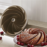 heritage swirled bundt pan by nordic ware