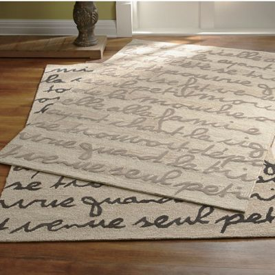 Poem Hand Tufted Indoor Outdoor Rug From Through The