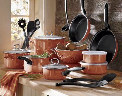 21 piece tivoli cookware set from through the country door 43408 - Tivoli kitchenware ...