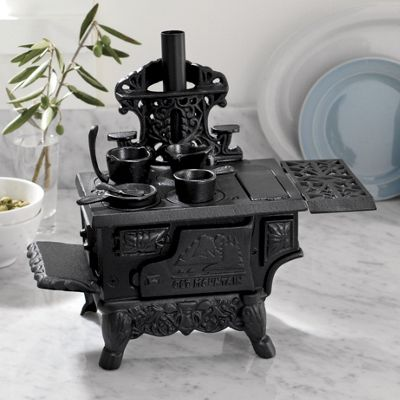 Decorative Cast Iron Mini Cookstove