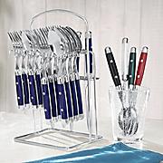 20-Piece Hanging Flatware Set