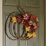 autumn wall hanging