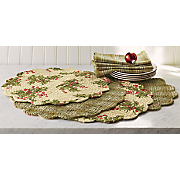 table runner place mats and napkins