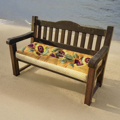 Perfect Pattern Bench Cushion