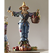 Welcome Harvest Friends Scarecrow