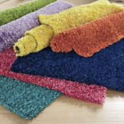 bright lights shag rug