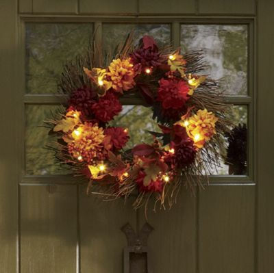 Pre-Lit Indoor/Outdoor Wreath