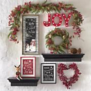 christmas love wreath