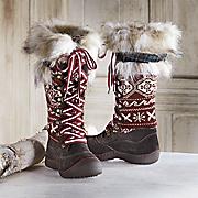 gwen snow boot by muk luks