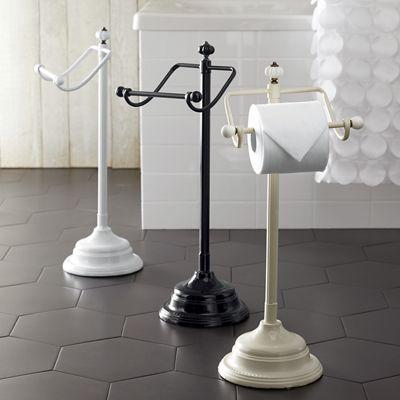 Floor-Standing Toilet Paper Holder