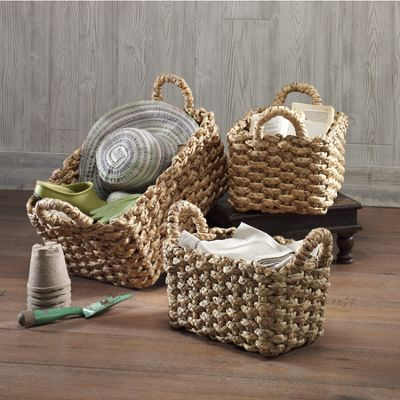Set of 3 Nesting Baskets
