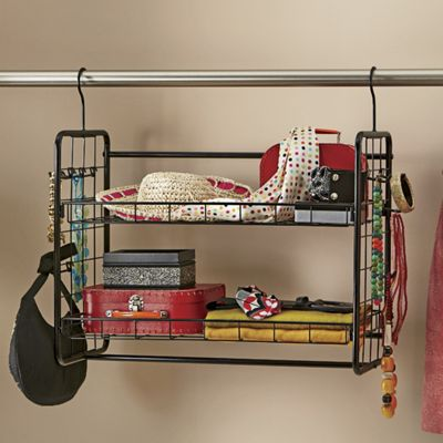 Two-Tier Hanger/Shelf