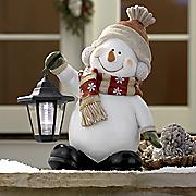 solar snowman