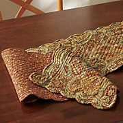 tangiers quilted table runner
