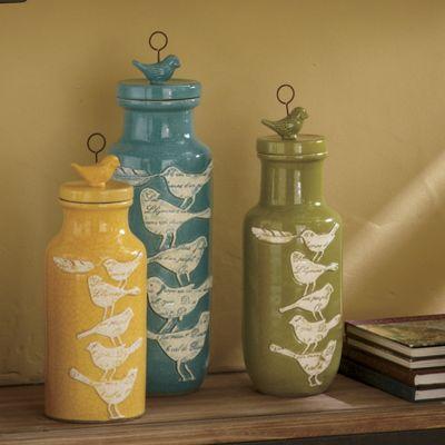 Adelaide Birdy Jars