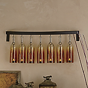 bottle sconce