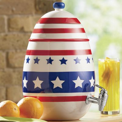 Americana Beverage Dispenser