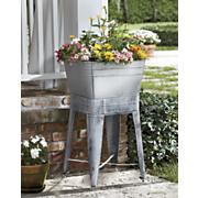 washtub planter stand