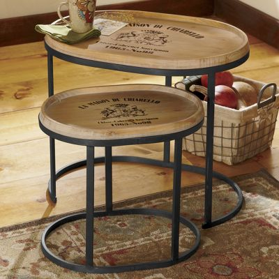 Set of 2 Chateau Nesting Tables