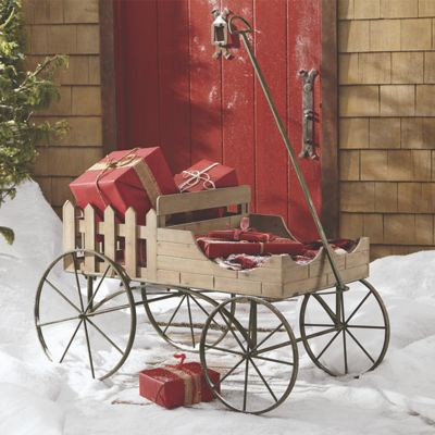 Picket Fence Garden Cart